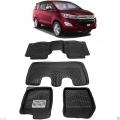Leathride Texured 3D Car Floor Mats For Toyota Innova Crysta