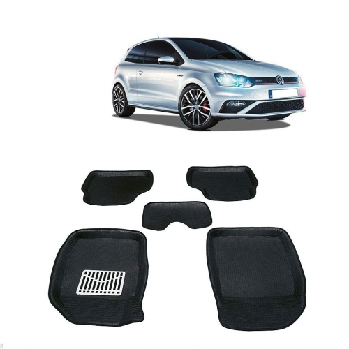 Leathride Texured 3D Car Floor Mats For Volkswagen Polo