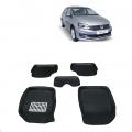 Leathride Texured 3D Car Floor Mats For Volkswagen Vento
