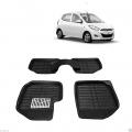 Leathride Texured 3D Car Floor Mats For Hyundai I10 Old