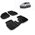 Premuim Quality 3D Car Floor For Hyundai I20 Old (Beige and Black)