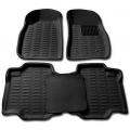 Premuim Quality Car 3D Floor Mats For Maruti Suzuki Baleno New (Black)