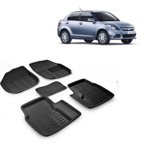 Premuim Quality 3D Car Floor For Hyundai Elantra (Beige)