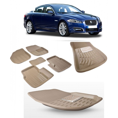 Premuim Quality 3D Car Floor Mats For Jaguar XF
