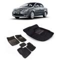 Premuim Quality Car 3D Floor Mats For Toyota Etios