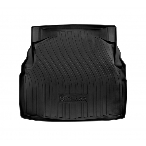 3D Rubber Car Boot Trunk Floor Mats For Mercedes C Class