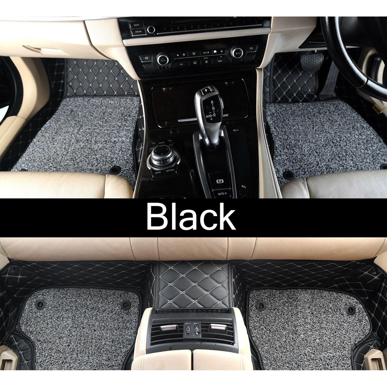 Carhatke 7d Mat For Honda Wrv Black And Beige Color Set Of 3 Shop