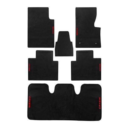 Autostorm Car Rubber Floor Mats For Toyota Innova Crysta