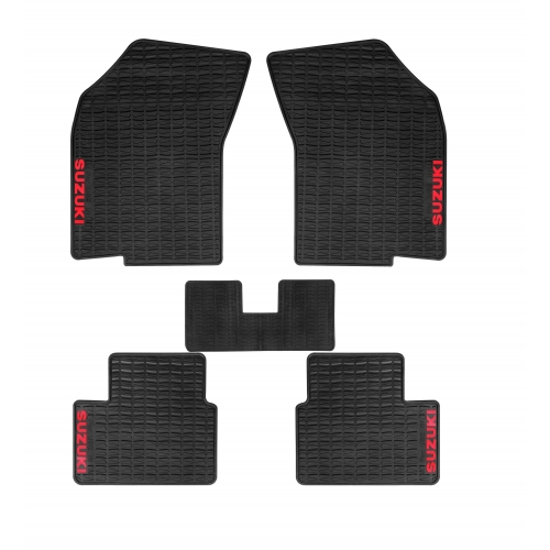 Autostorm Car Rubber Floor Mats For Maruti Suzuki Swift