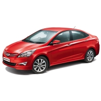 Hyundai Verna Fluidic Accessories