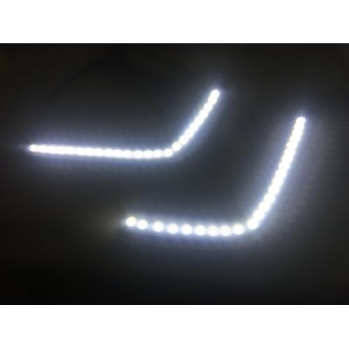 Maruti New Swift Front LED DRL Daytime Running Light Single Tube (Set of 2Pcs.)