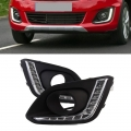 Maruti Suzuki Swift New LED Front DRL Day Time Running Lights (Set of 2Pcs.)