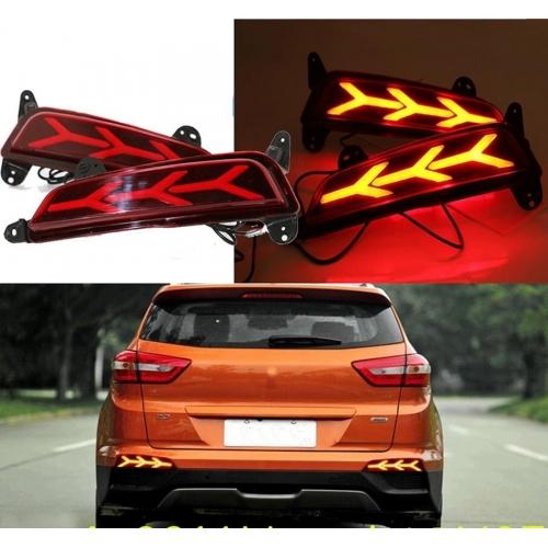 Hyundai Creta Bumper LED Reflector Lights  Matrix Edition (Set of 2Pcs.)