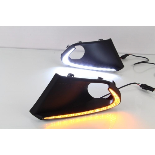 Maruti Baleno LED Front DRL Day Time Running Lights (Set of 2Pcs.)