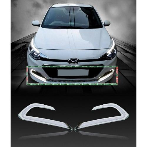 Hyundai i20 Elite Old Front LED DRL Daytime Running Light (Set of 2Pcs.)