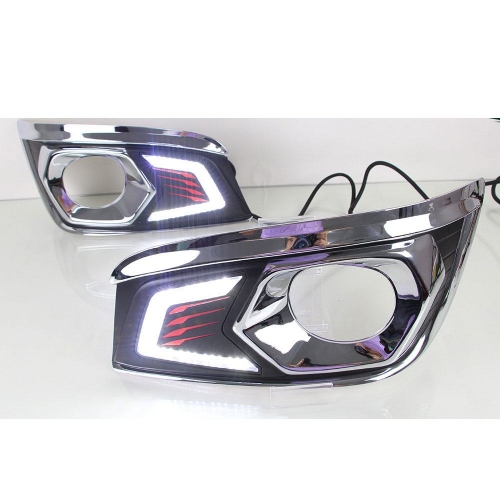 LED DRL Day Time Running Light For Toyota Fortuner Old
