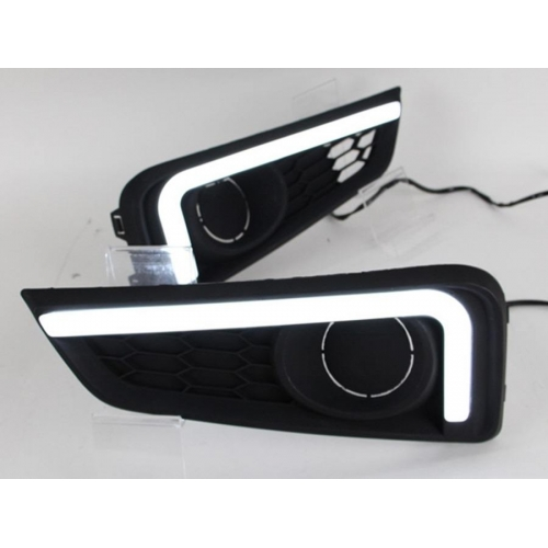 Honda City Idtech 2014 LED DRL Neon Type Day Time Running Lights (Set of 2Pcs.)