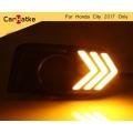 Honda City 2017 Front LED DRL Daytime Running Lights (Set of 2Pcs.)