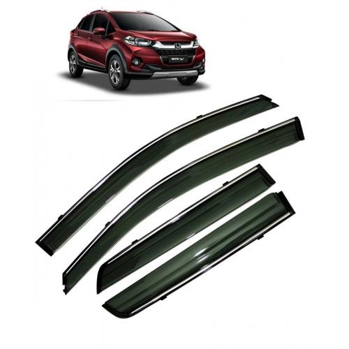 Car Window Door Visor With Chrome Line For Honda WRV (Imported)