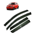 Car Window Door Visor With Chrome Line For Maruti Ignis (Imported)