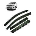 Car Window Door Visor With Chrome Line For Toyota Old Fortuner (Imported)