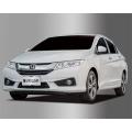 Autoclover Full Chrome Window Door Visor Deflector For Honda City 2014