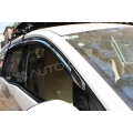Autoclover Full Chrome Window Door Visor Deflector For Honda Mobilio