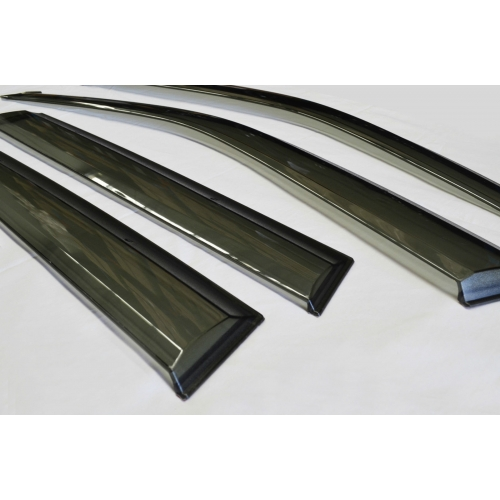 Car Window Door Visor With Chrome Line For Kia Seltos (Imported)