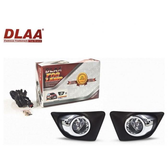 Fog Light With Wiring & Bulb For Ford Ecosport Old Set Of 2 By DLAA