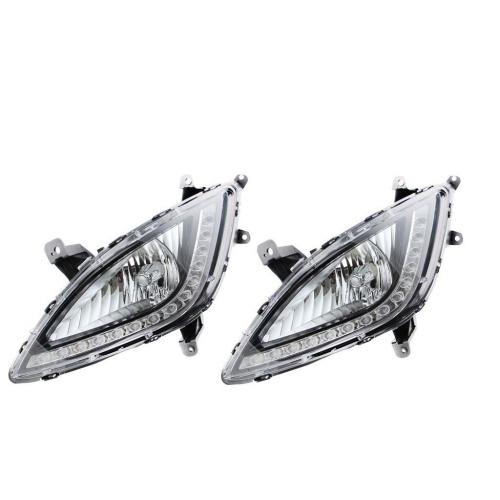 Fog Light With Wiring & Bulb For Hyundai i20 Type 2 OEM Type (Set of 2Pcs.)