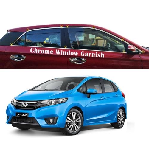 Honda Jazz New Full Window Chrome Garnish Trims