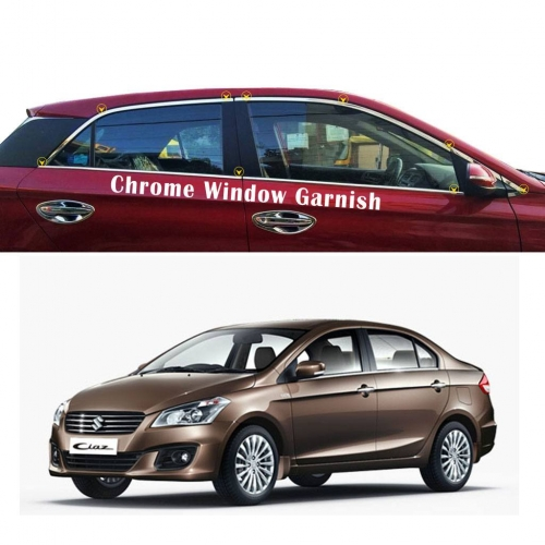 Maruti Suzuki Ciaz Full Window Chrome Garnish Trims