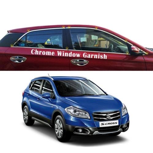 Maruti Suzuki S Cross Full Window Chrome Garnish Trims