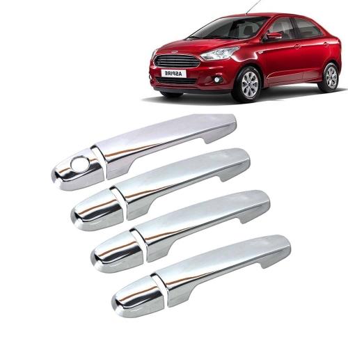 Ford Figo Aspire Chrome Handle Covers all Models - Set of 4