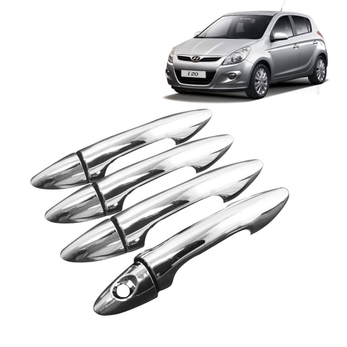 Hyundai i20 Old Chrome Handle Covers All Models - Set of 4
