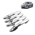 Hyundai Verna Fluedic Chrome Handle Covers All Models - Set of 4