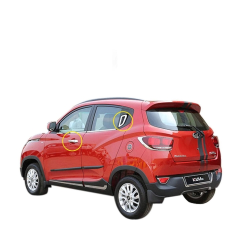 Mahindra KUV 100 Chrome Handle Covers All Models - Set of 4