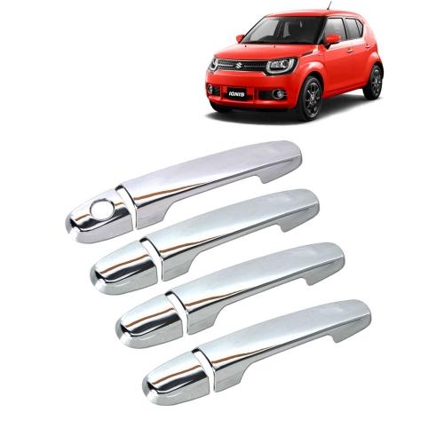 Maruti Suzuki Ignis Chrome Handle Covers all Models - Set of 4