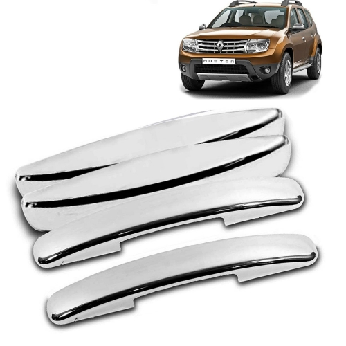 Renault Duster Chrome Handle Covers all Models - Set of 4