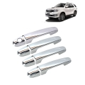 Toyota Fortuner Old Chrome Handle Covers all Models - Set of 4