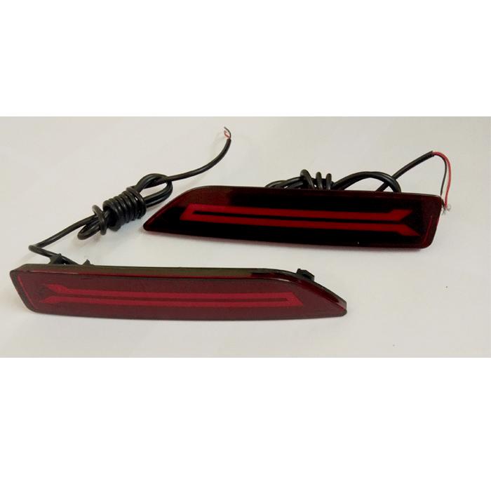 Honda BRV Back Bumper Reflector LED Brake Light (Set of 2Pcs.)
