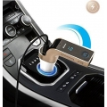 Car Bluetooth 2.5 amp ultra speed charger with Memory Card and Mic Option