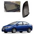 Car Window Magnetic Sunshade For Honda City 2009 2013 Set Of 4