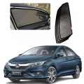 Car Window Magnetic Sunshade For Honda City 2017 Set Of 4