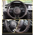 Steering Wheel Anti-skid Sleeve Cover For All Car - Black