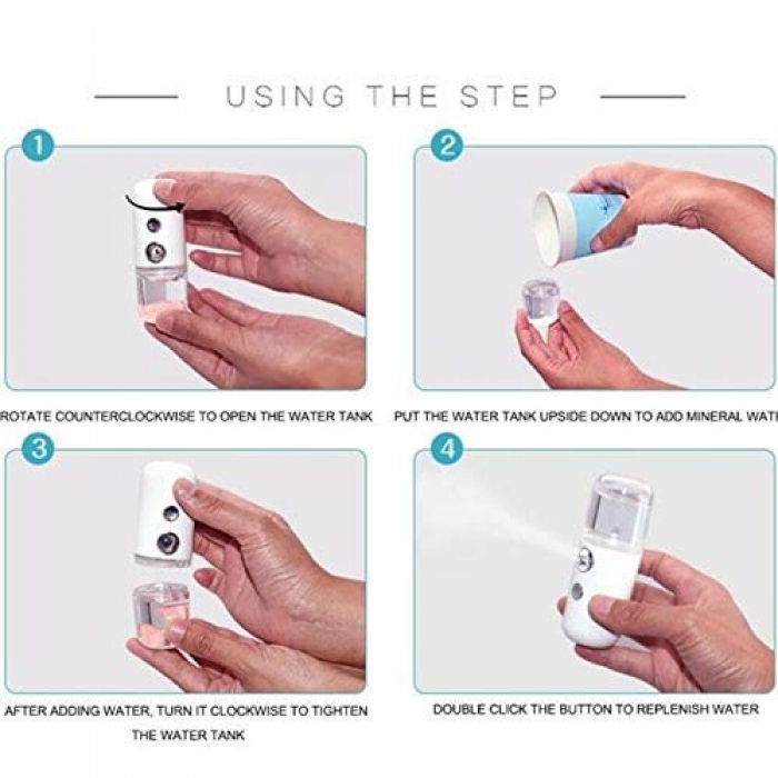 Automatic Portable Mini Sanitizer Spray Machine for Currency, Car, Home, Office, Bank, Mobile Care Personal Care