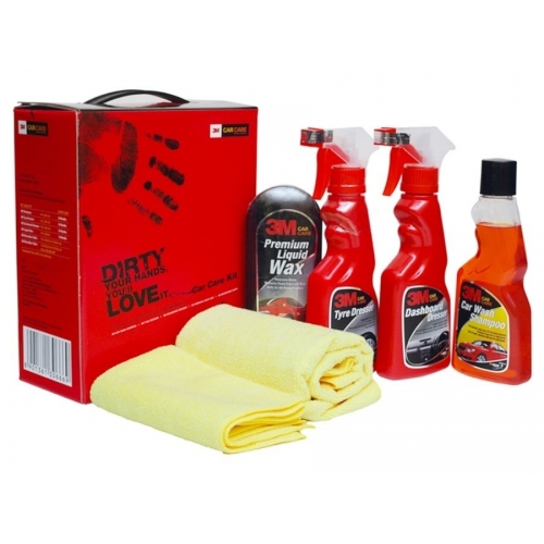 Complete Car Care kit For All Cars - 3M