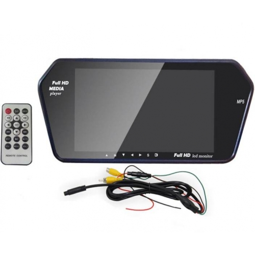 Car Rear View Monitor High Defination With Bluetooth (7 Inches)
