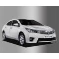Autoclover Full Chrome Window Door Visor Deflector For Toyota Corolla Altis 2014 2016