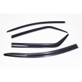 Autoclover Window Door Visor Deflector For Ford Ecosport Set of 4 Smoke Color